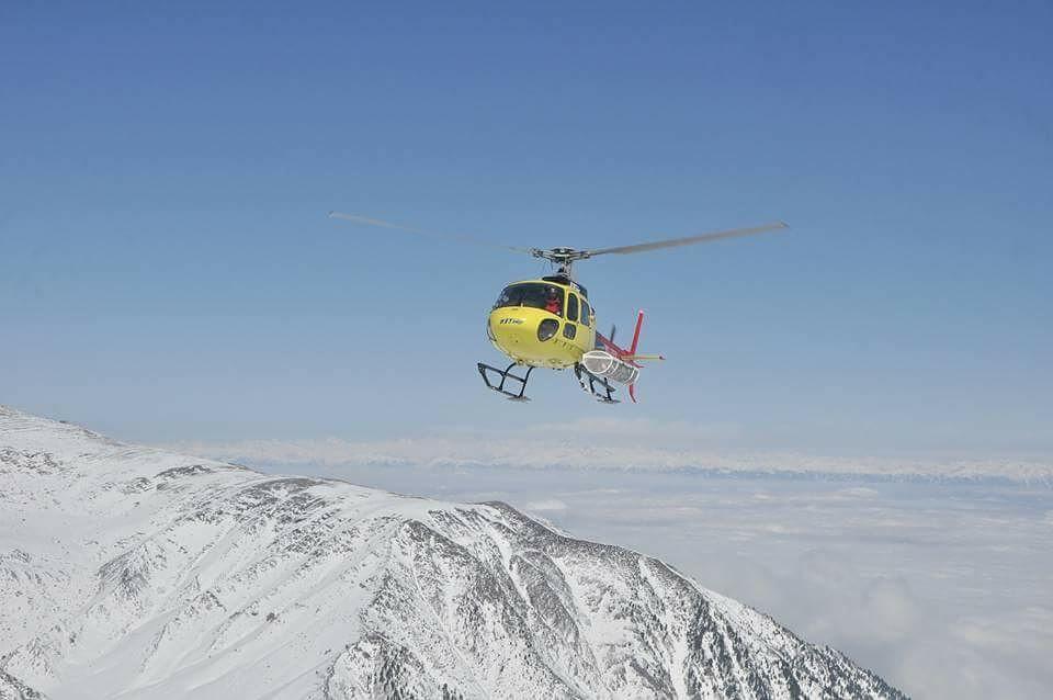 pir panjal kashmir skiing